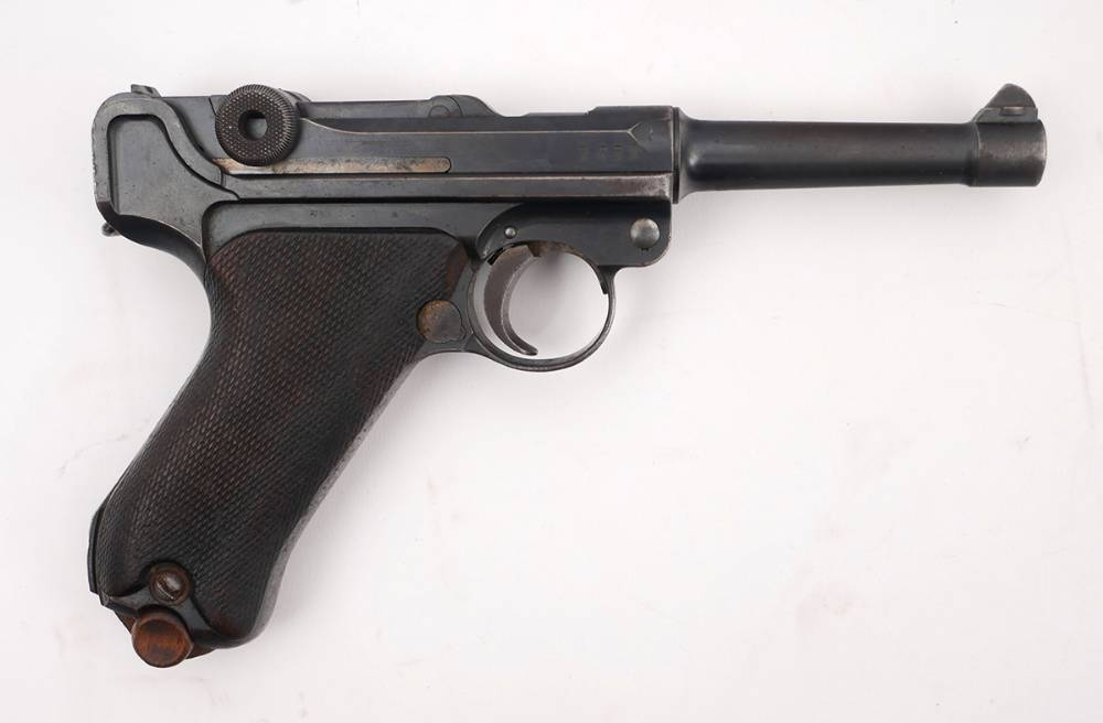 1919-1922 War of Independence, 9mm Luger automatic pistol