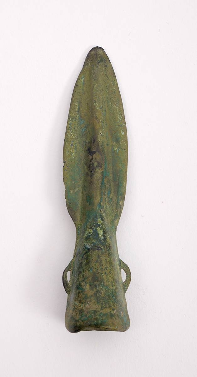 1st Millennium BC  bronze age British spearhead: at Whyte's Auctions