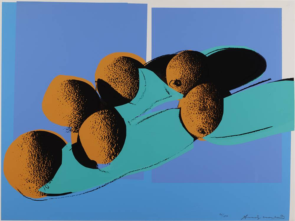 SPACE FRUIT: CANTALOUPES I 201, 1979 by Andy Warhol (USA, 1928-1987) (USA, 1928-1987) at Whyte's Auctions