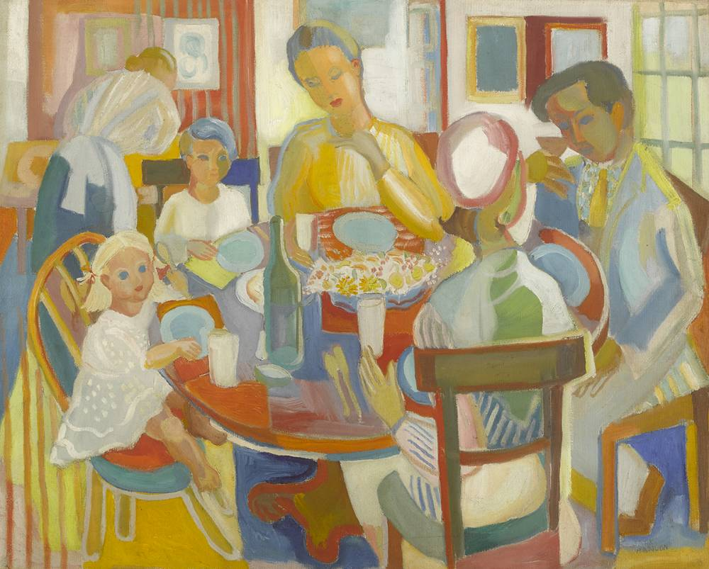 SUNDAY LUNCH by Father Jack P. Hanlon (1913-1968) (1913-1968) at Whyte's Auctions