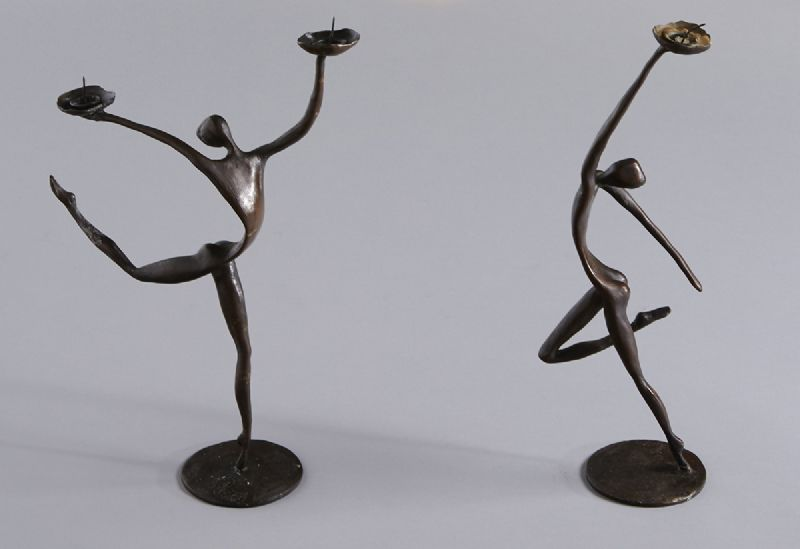 TARA SERIES CANDLEHOLDERS, 1991 (A PAIR) by John Kennedy sold for �1,500 at Whyte's Auctions