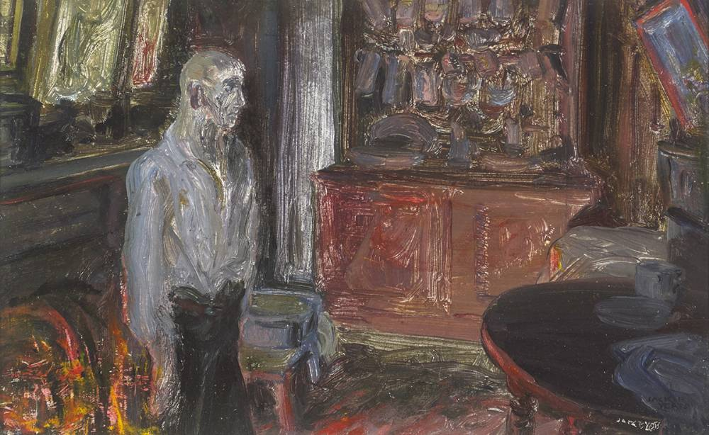 THE QUAY WORKER'S HOME, 1927 by Jack Butler Yeats RHA (1871-1957) at Whyte's Auctions