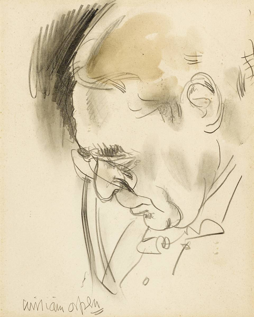 PORTRAIT OF LEE HANKEY by Sir William Orpen RA RI RHA (1878-1931) at Whyte's Auctions