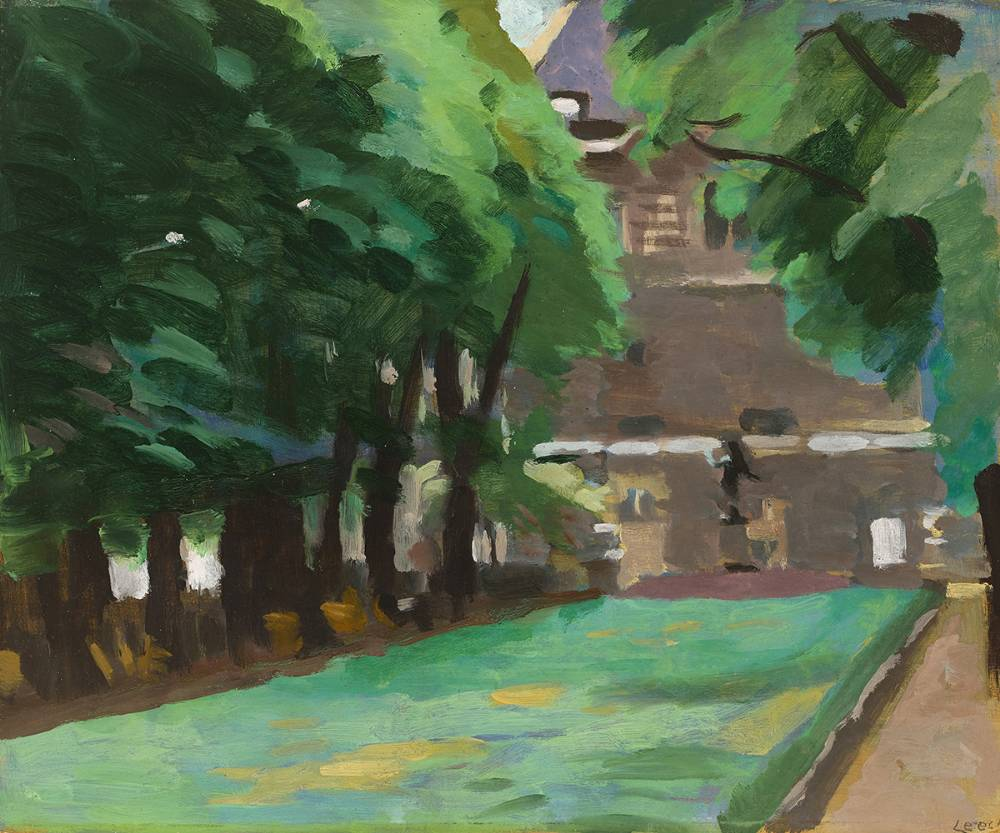 LUXEMBOURG GARDENS AND SENAT by William John Leech sold for �13,000 at Whyte's Auctions