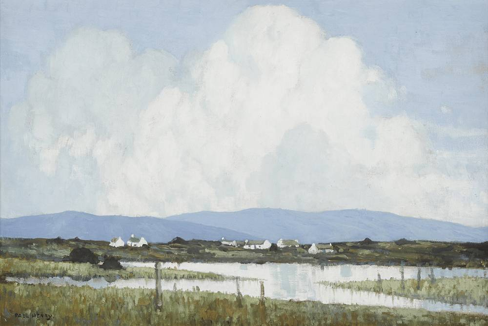 WESTERN LANDSCAPE, c.1935-40 by Paul Henry RHA (1876-1958) RHA (1876-1958) at Whyte's Auctions