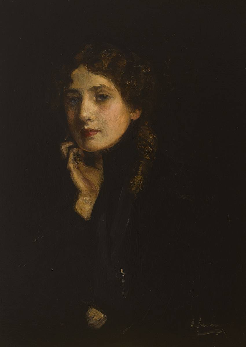 MARY IN BLACK, c.1904 by Sir John Lavery sold for �75,000 at Whyte's Auctions