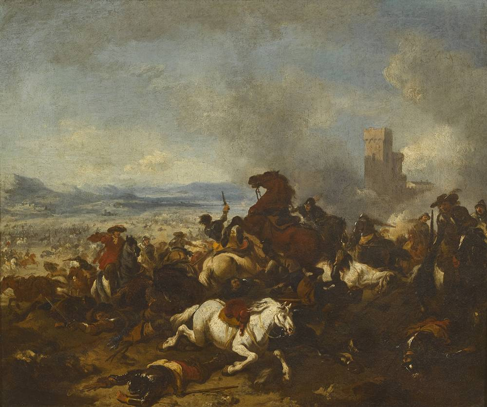 BATTLE SCENE, c.1670 at Whyte's Auctions