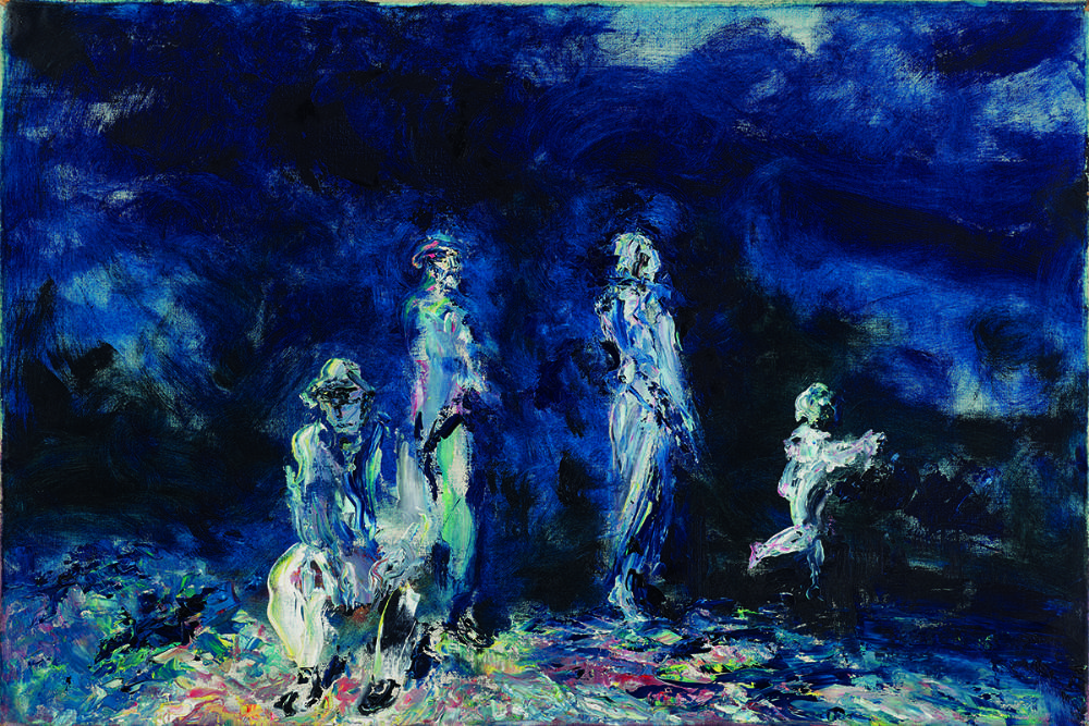 THE ENFOLDING NIGHT, 1947 by Jack Butler Yeats RHA (1871-1957) at Whyte's Auctions