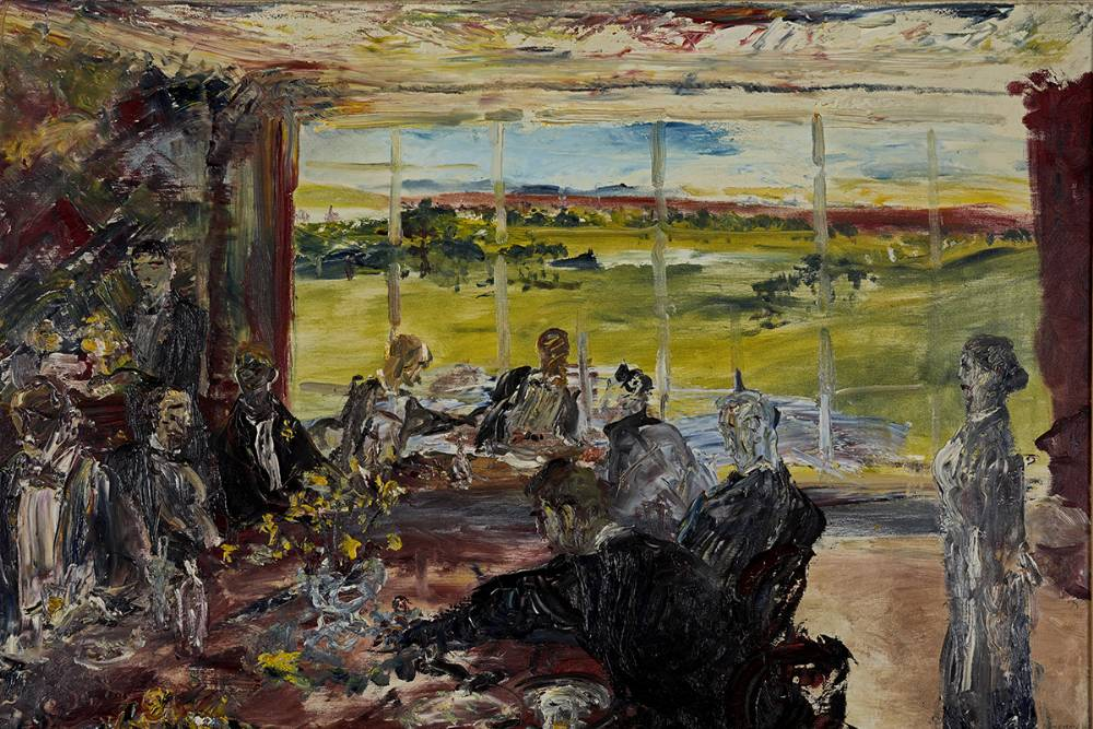 EVENING IN SPRING, 1937 by Jack Butler Yeats RHA (1871-1957) RHA (1871-1957) at Whyte's Auctions