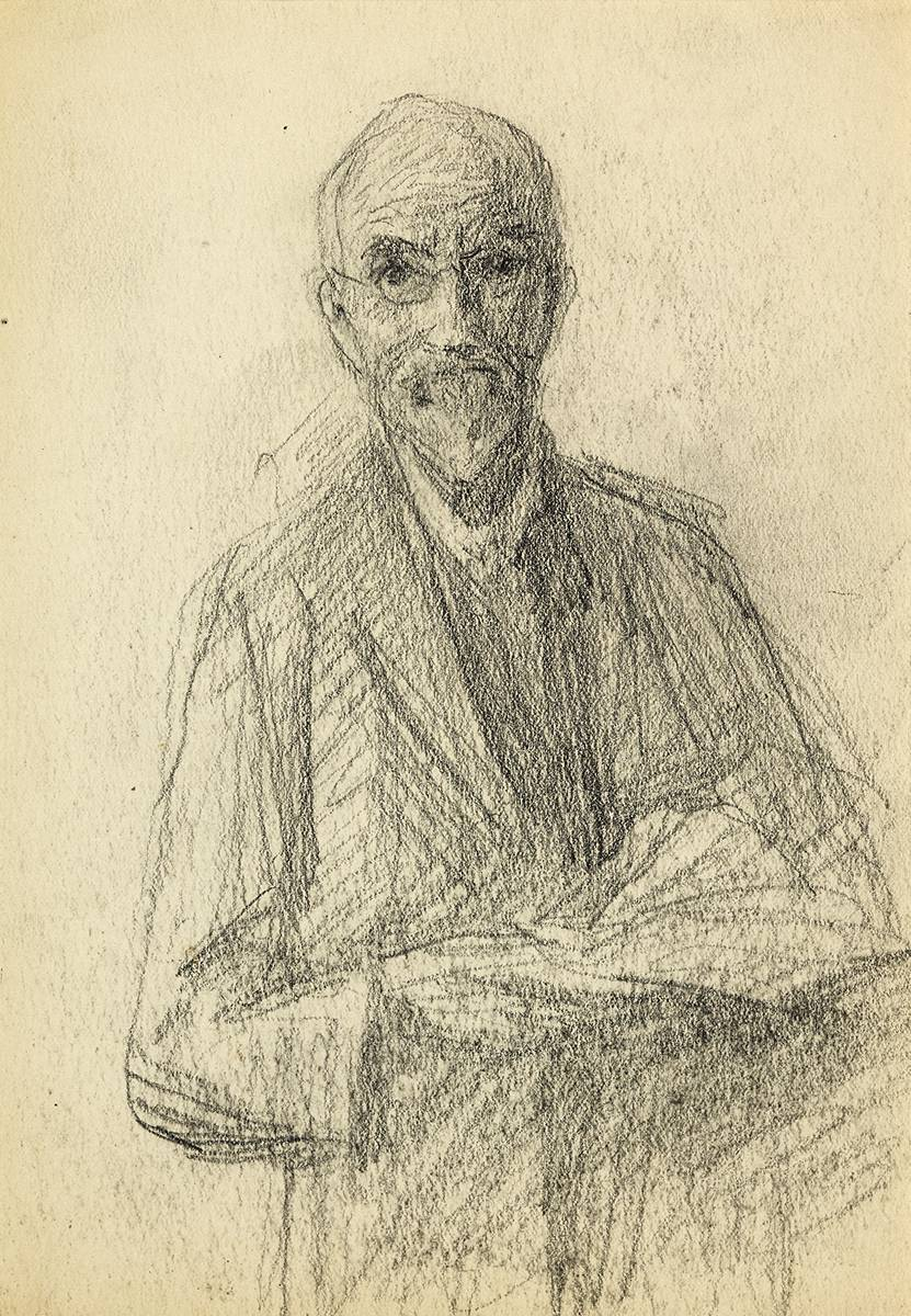 SELF PORTRAIT by John Butler Yeats RHA (1839-1922) at Whyte's Auctions