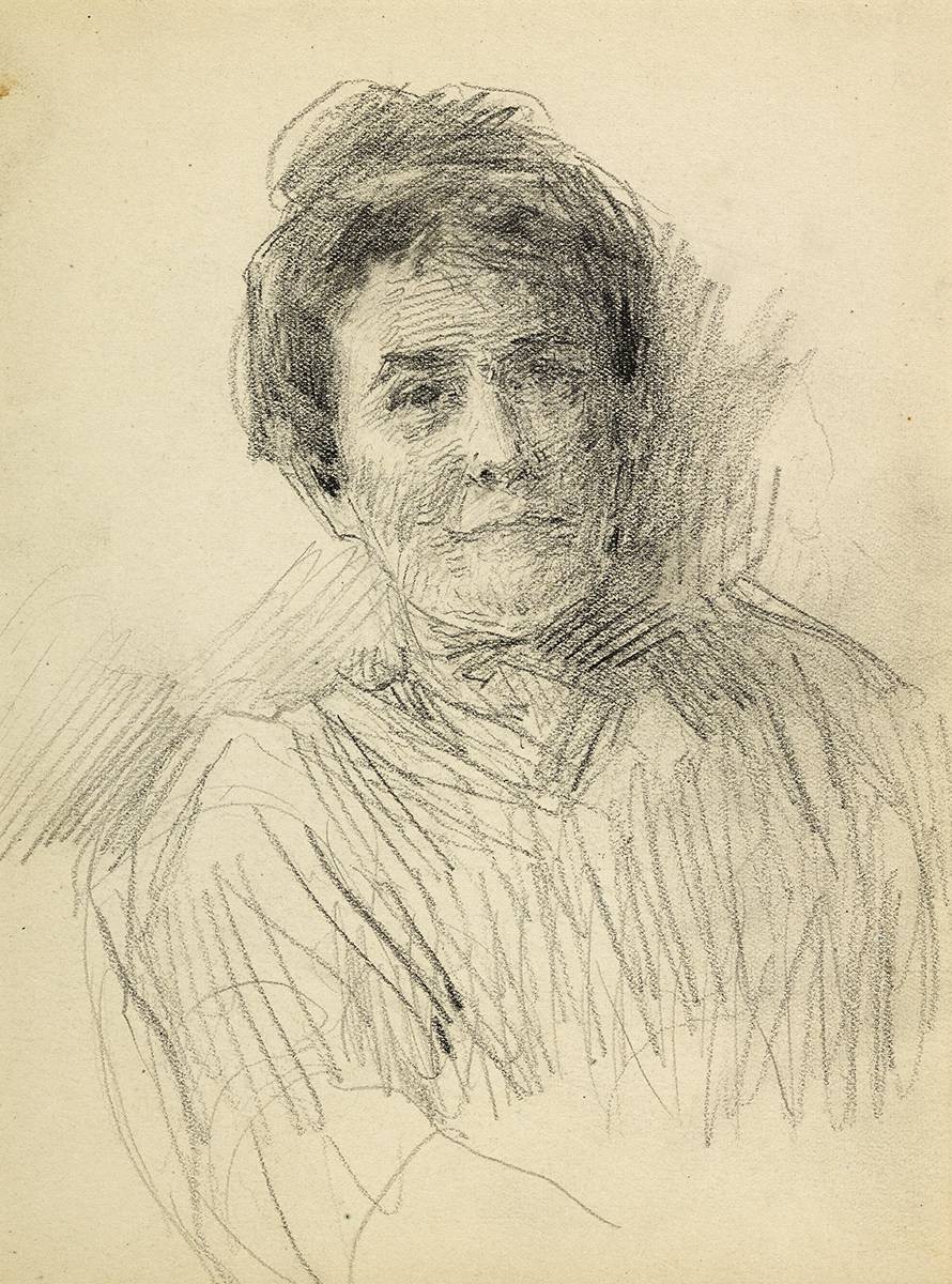 PORTRAIT OF A WOMAN by John Butler Yeats RHA (1839-1922) at Whyte's Auctions