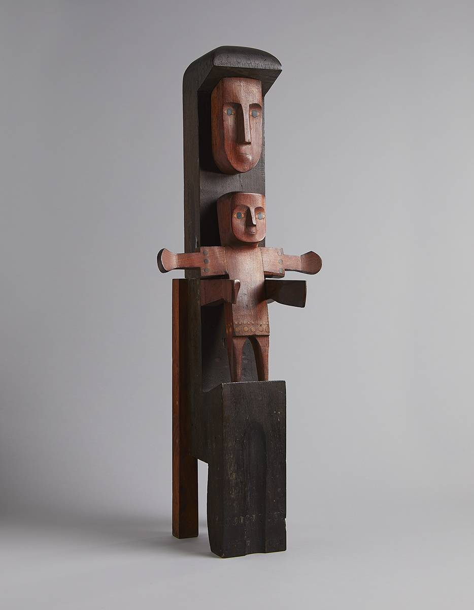 VIRGIN AND CHILD, c.1955 by Oisín Kelly RHA (1915-1981) RHA (1915-1981) at Whyte's Auctions