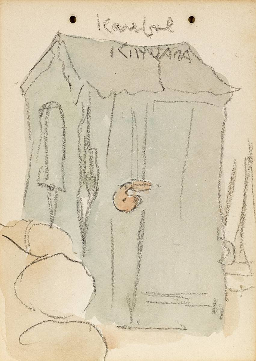 KAREFUL KINVARA, 1899 by Jack Butler Yeats RHA (1871-1957) at Whyte's Auctions