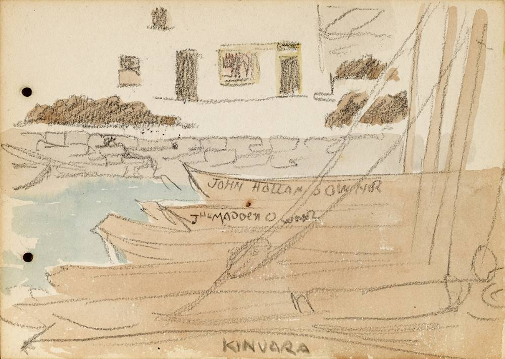KINVARA, 1899 by Jack Butler Yeats RHA (1871-1957) RHA (1871-1957) at Whyte's Auctions