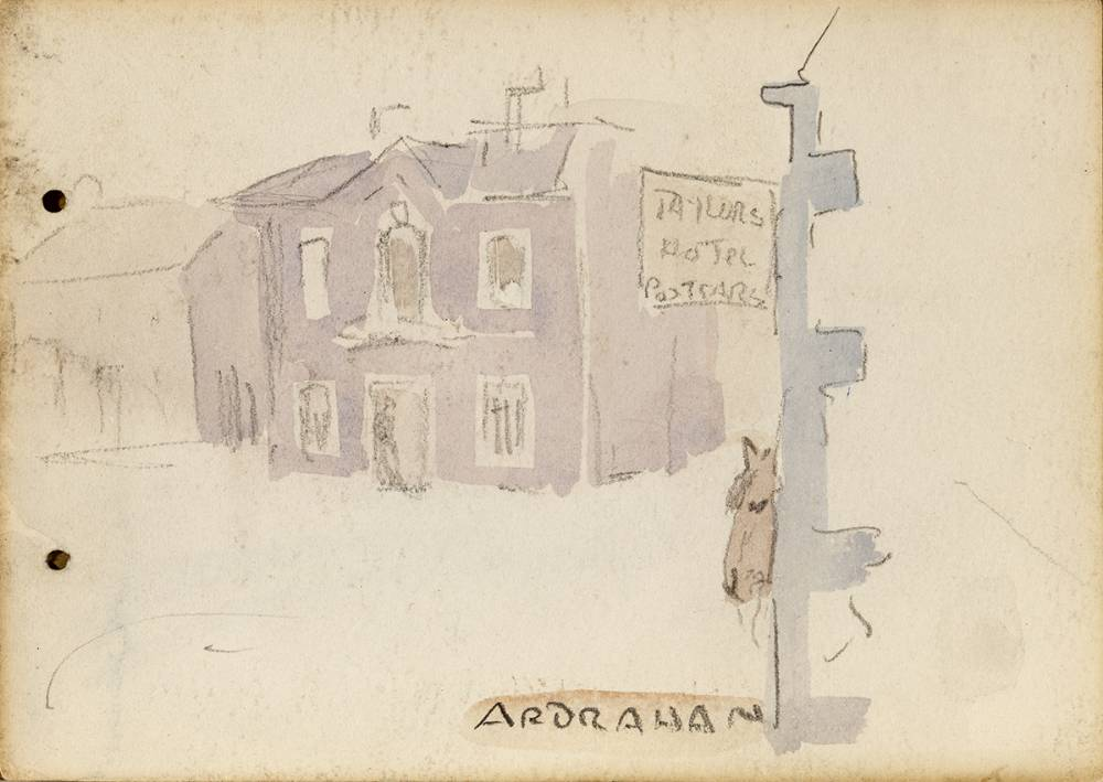 ARDRAHAN, 1899 by Jack Butler Yeats RHA (1871-1957) at Whyte's Auctions