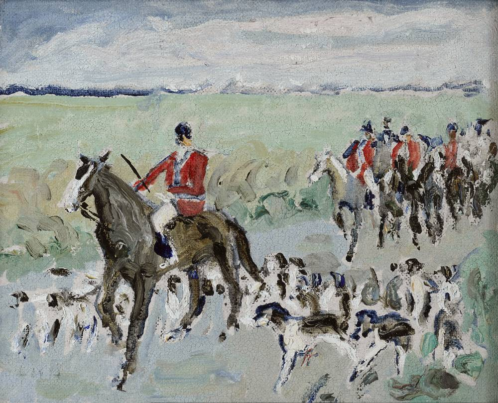 THE MEATH HOUNDS by Letitia Marion Hamilton RHA (1878-1964) at Whyte's Auctions