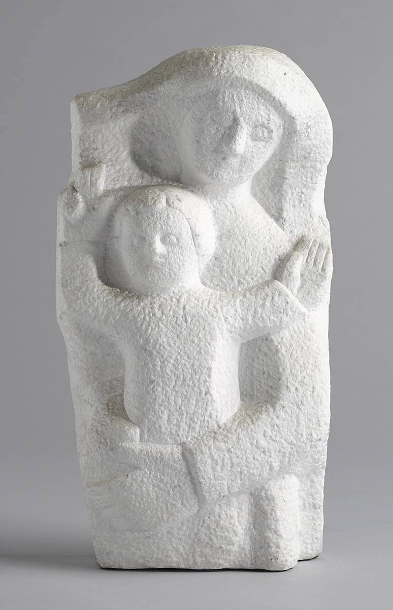 MADONNA AND CHILD, 1990 by Domhnall � Murchadha RHA (1914-1991) at Whyte's Auctions