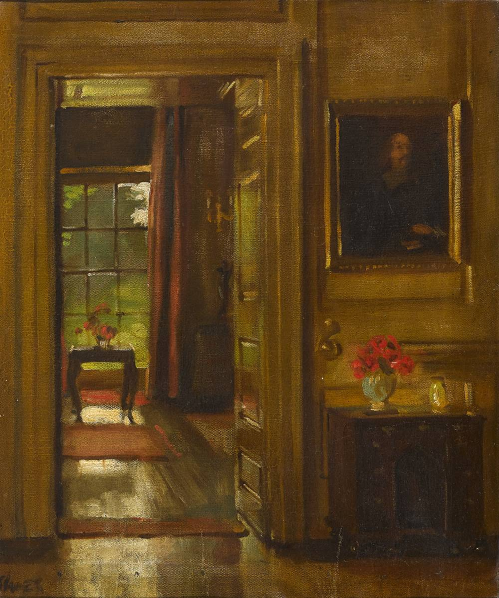 INTERIOR by Simon Elwes RA (1902-1975) at Whyte's Auctions