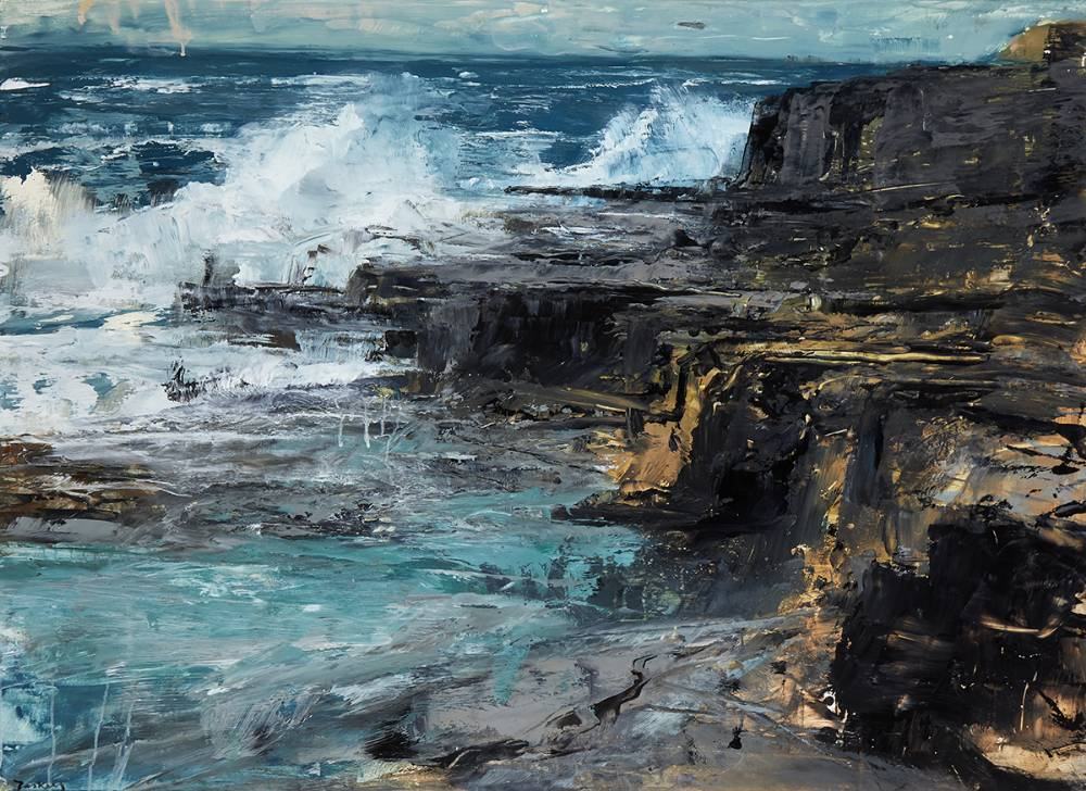 COASTAL REPORT II by Donald Teskey sold for �20,000 at Whyte's Auctions