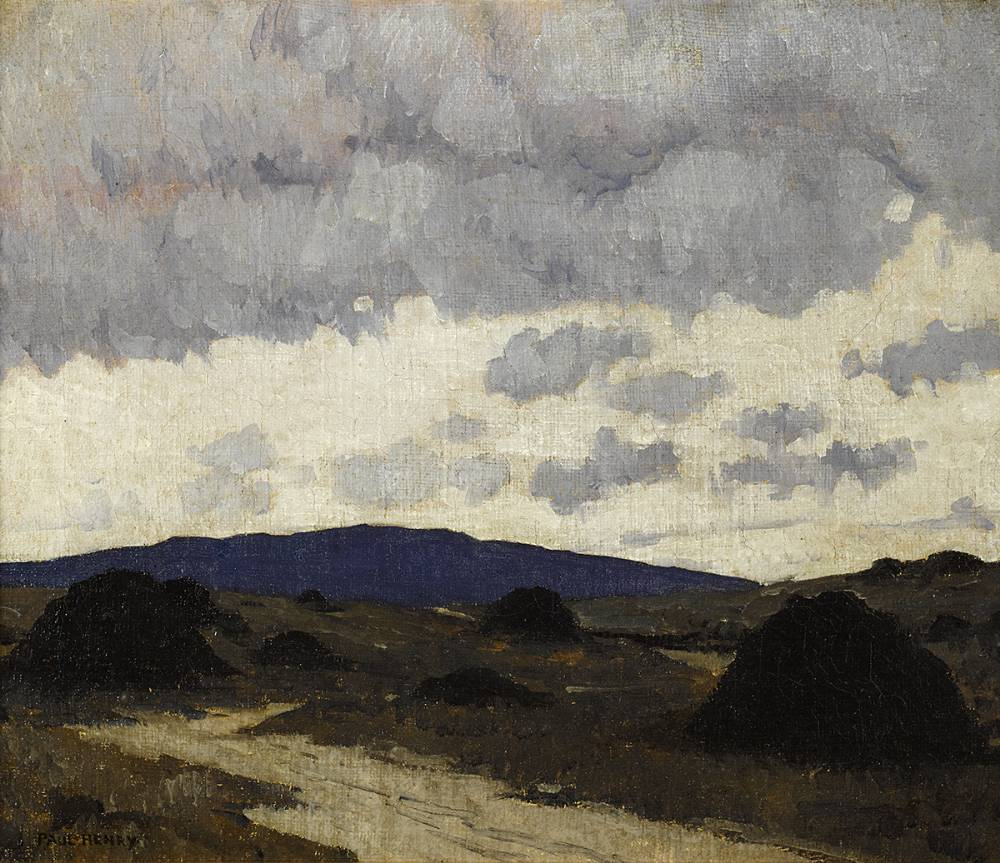THE BOG ROAD, c.1917-23 by Paul Henry RHA (1876-1958) at Whyte's Auctions