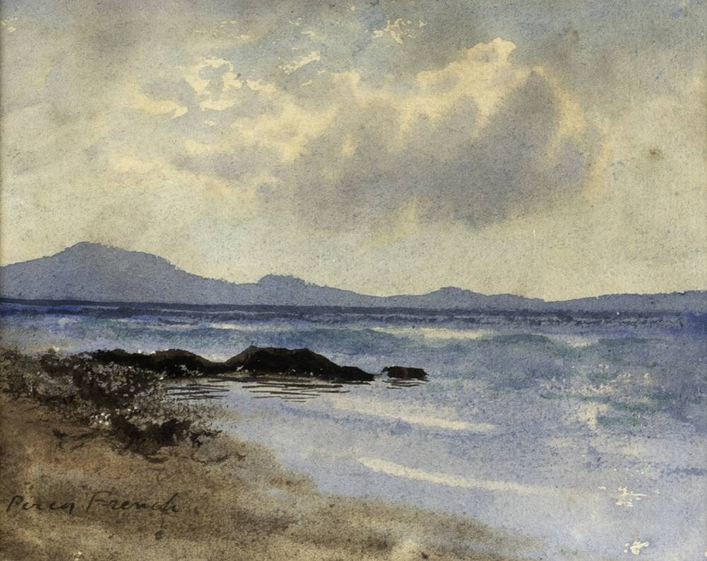 COASTAL SCENE by William Percy French (1854-1920) at Whyte's Auctions