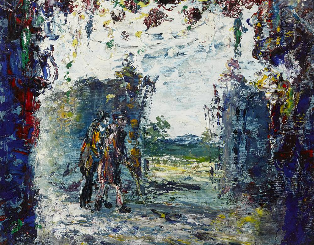 RUSTY GATES, 1948 by Jack Butler Yeats RHA (1871-1957) RHA (1871-1957) at Whyte's Auctions