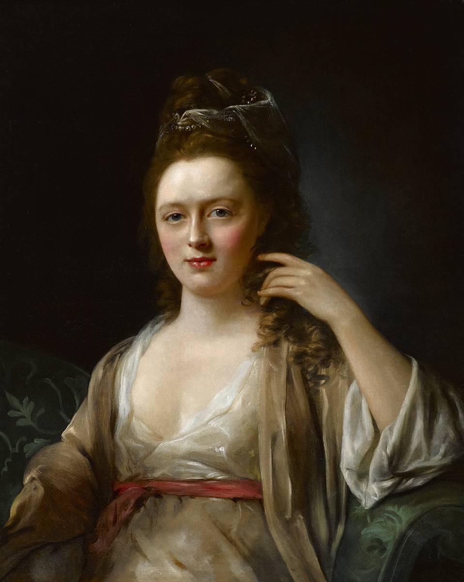 PORTRAIT OF A LADY SAID TO BE ANN GARDINER (1746-1810) by Nathaniel Hone RA (1718-1784) at Whyte's Auctions