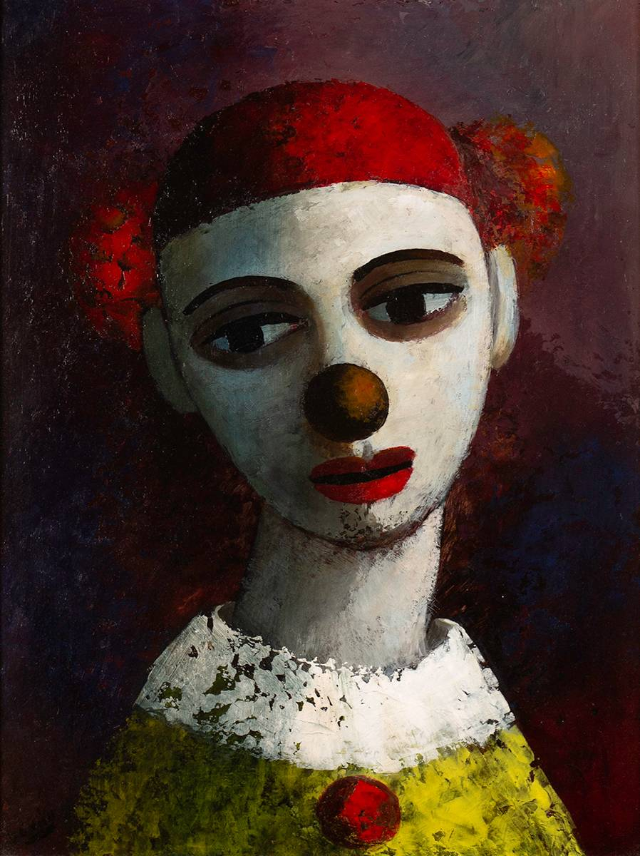 THE APPRENTICE CLOWN, 1971 by Daniel O'Neill (1920-1974) at Whyte's Auctions