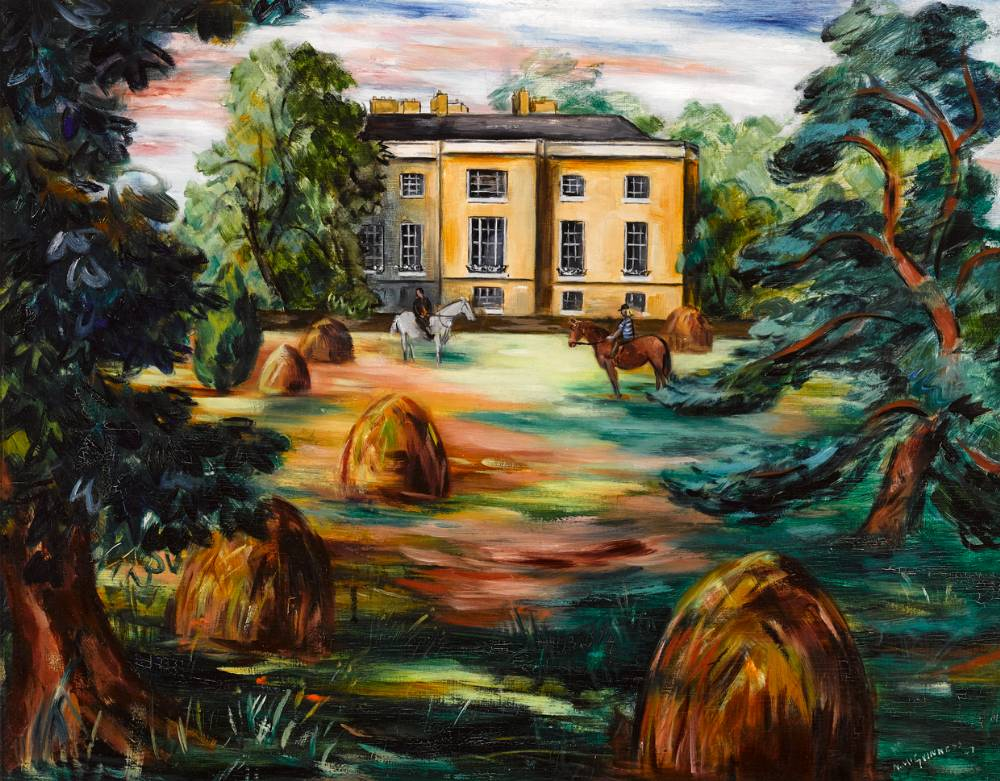 NEWTOWNPARK HOUSE, BLACKROCK, COUNTY DUBLIN, 1947 by Norah McGuinness HRHA (1901-1980) HRHA (1901-1980) at Whyte's Auctions
