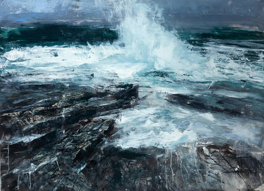 COASTAL REPORT by Donald Teskey sold for �23,000 at Whyte's Auctions