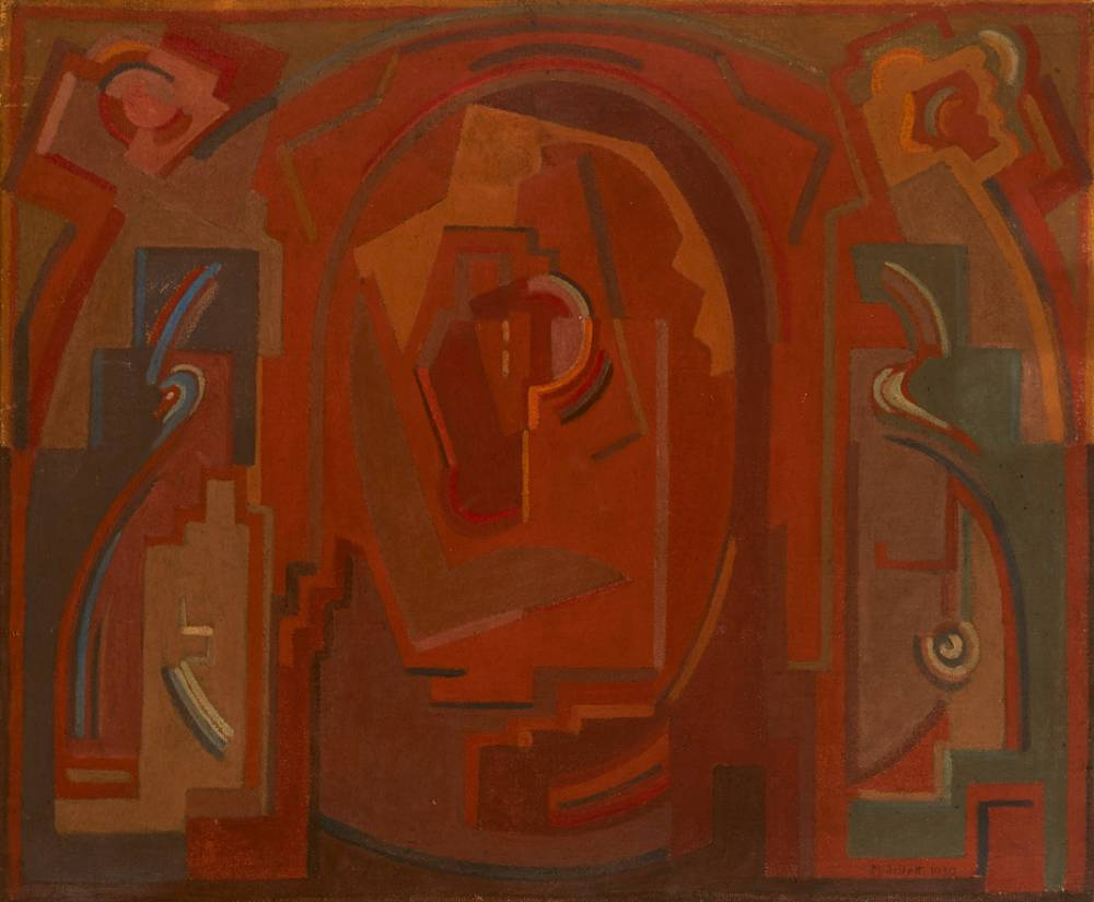 PAINTING, 1930 by Mainie Jellett sold for €36,000 at Whyte's Auctions