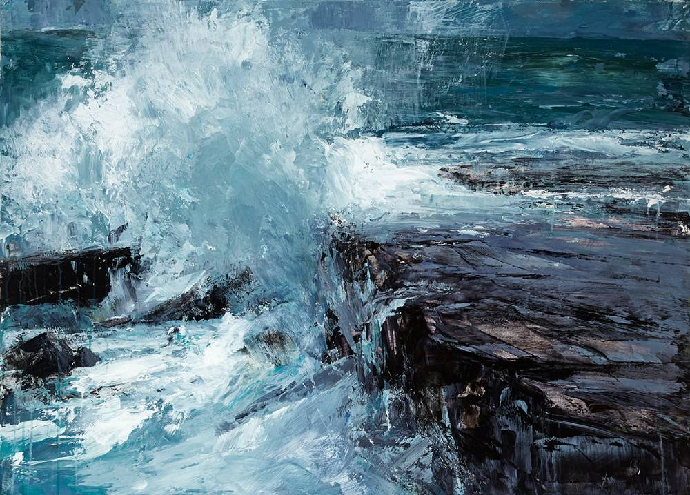 COASTAL REPORT II - ERRIS, 2016 by Donald Teskey sold for �36,000 at Whyte's Auctions
