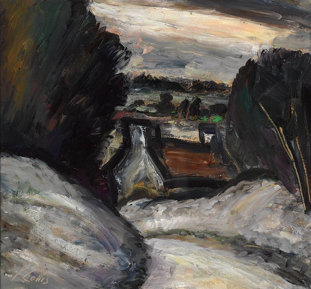 SNOW IN MEATH by Peter Collis RHA (1929-2012) at Whyte's Auctions