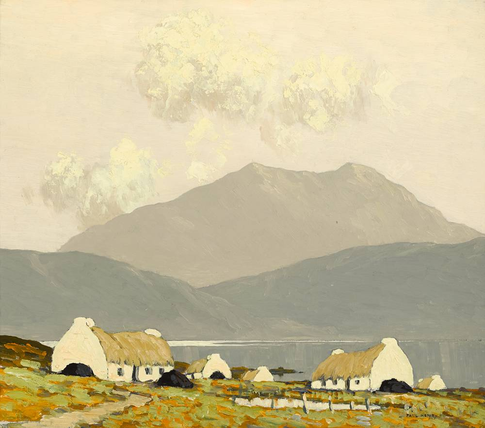 KILLARY BAY, CONNEMARA, 1924-1925 by Paul Henry sold for €140,000 at Whyte's Auctions
