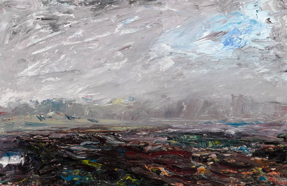 RIVER MOUTH, GLENBEIGH, COUNTY KERRY, 1930 by Jack Butler Yeats sold for €52,000 at Whyte's Auctions