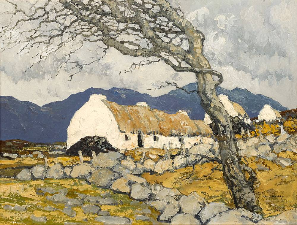 THE STONY FIELDS OF KERRY, 1934-1939 by Paul Henry sold for €200,000 at Whyte's Auctions