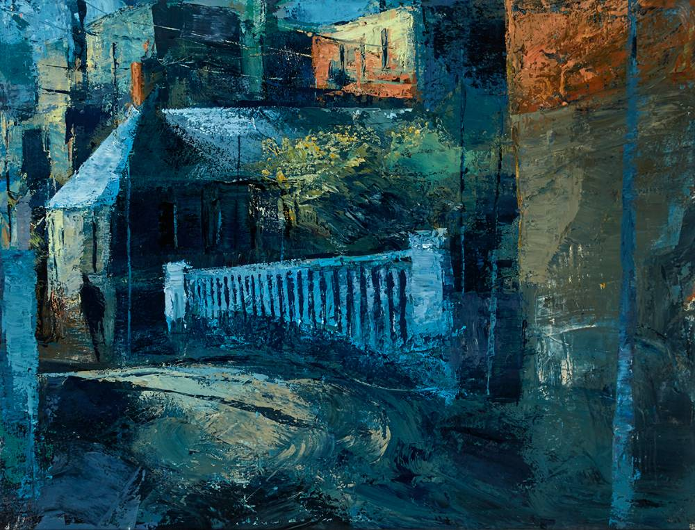 CHURCH STREET, FR MATHEW BRIDGE, 1999 by Donald Teskey sold for �19,000 at Whyte's Auctions