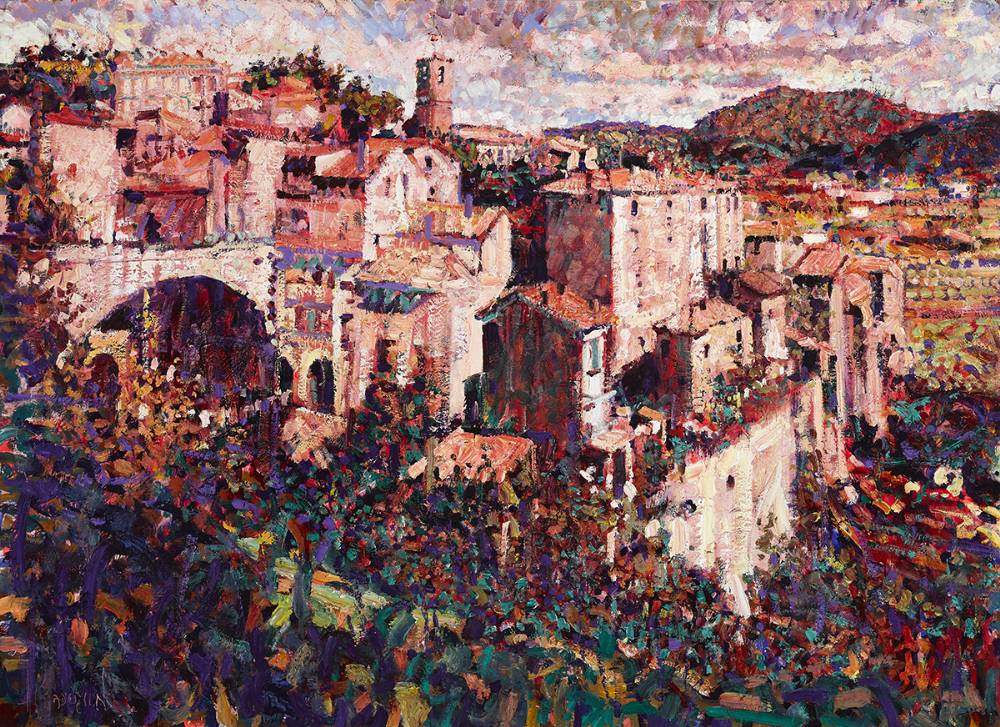 ST-ANDR�-DE-MAJENCOULES, FRANCE by Arthur K. Maderson (b.1942) at Whyte's Auctions