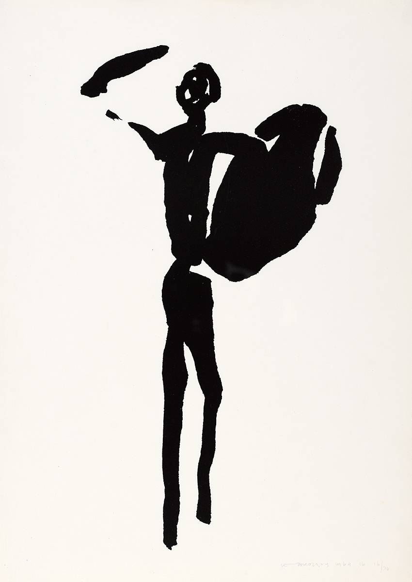 THE T�IN. THE BOY C�CHULAINN ARMED, 1969 by Louis le Brocquy HRHA (1916-2012) at Whyte's Auctions