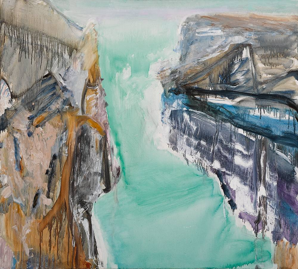 RAKAIA GORGE I, 1988 by Barrie Cooke HRHA (1931-2014) at Whyte's Auctions