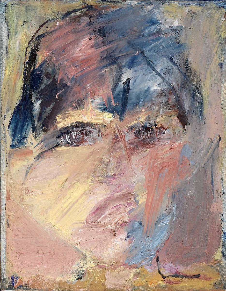 THREE HEADS (I), 1985 by Basil Blackshaw HRHA RUA (1932-2016) at Whyte's Auctions