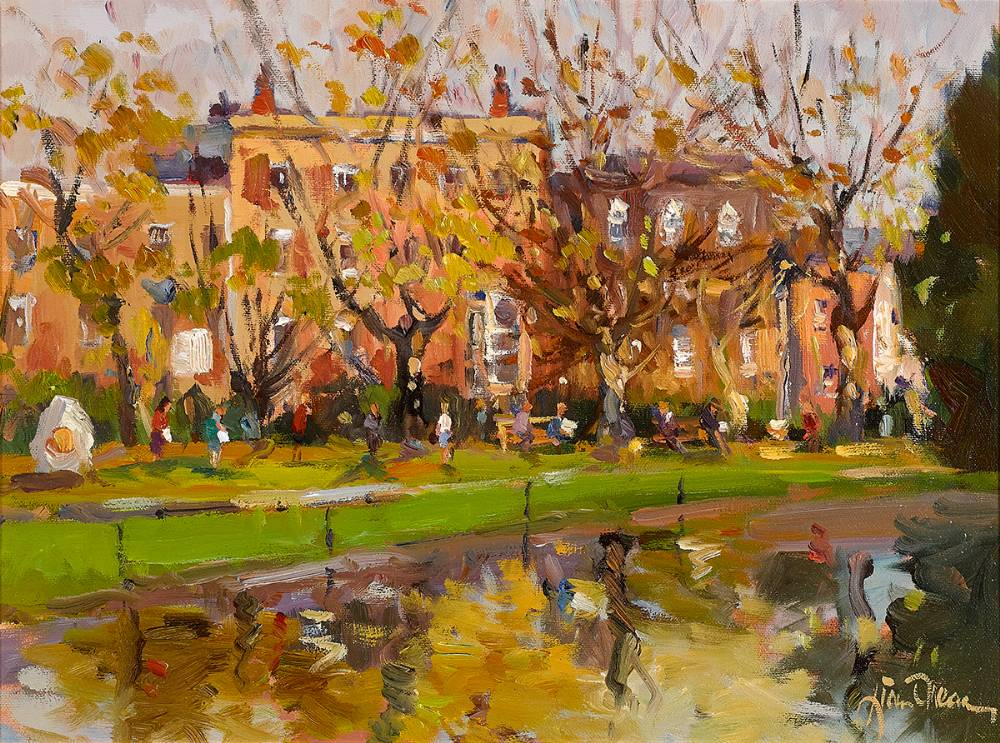 AUTUMN SUNLIGHT by Liam Treacy (1934-2004) at Whyte's Auctions