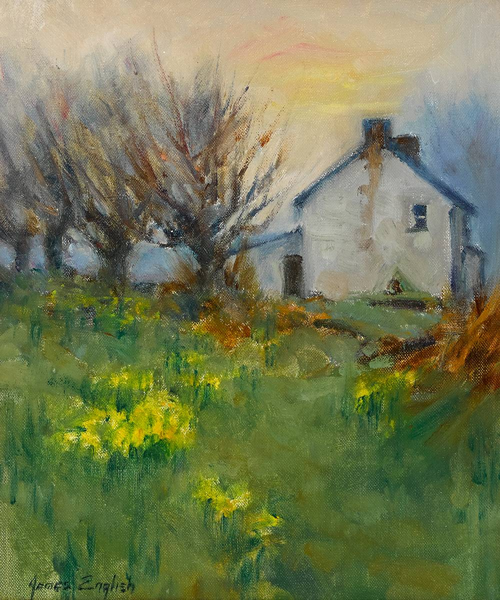 GARDEN by James English RHA (b.1946) at Whyte's Auctions