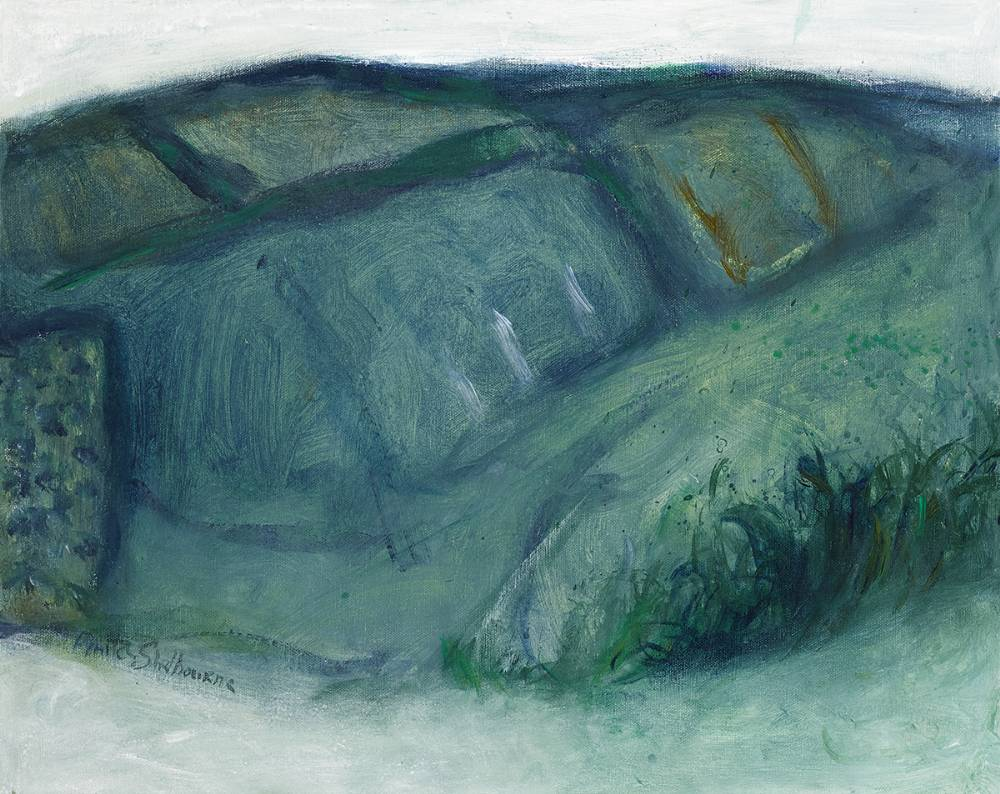 WICKLOW LANDSCAPE by Anita Shelbourne RHA (b.1938) at Whyte's Auctions