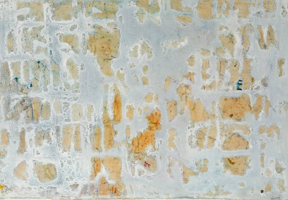 DECAYING FRESCO, CORFU, 1993 by Mike Fitzharris (b.1952) at Whyte's Auctions