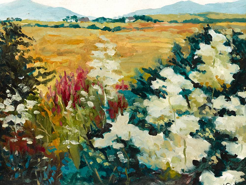 SPRING LANDSCAPE by Nuala Stephenson (1921 - 2010) at Whyte's Auctions