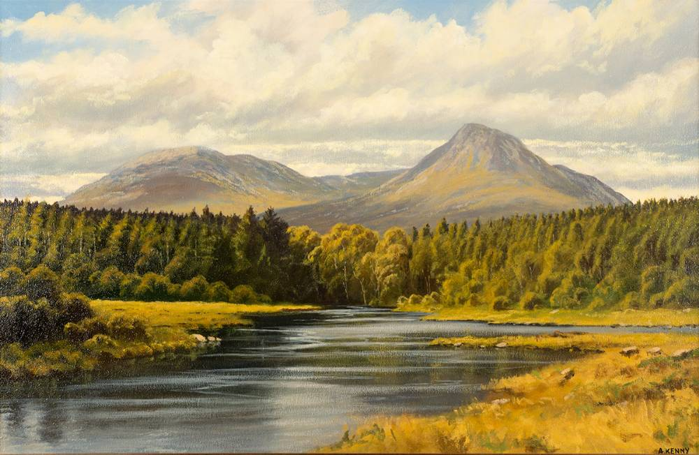 BALLYNAHINCH, CONNEMARA by Alan Kenny (b.1959) at Whyte's Auctions